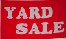 NEW 3X5ft RED YARD SALE FLAG superior quality fade resist