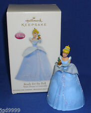 Hallmark Ornament Disney Cinderella Ready for the Ball 2012 Gus the Mouse NIB