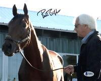 BOB BAFFERT SIGNED AUTOGRAPHED 8x10 PHOTO HORSE RACING TRAINER RARE BECKETT BAS