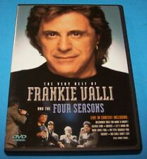 Very Best of Frankie Valli and the Four Seasons - Live in Concert  (DVD, 2007)