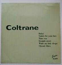 John Coltrane - Coltrane - 1957 UK Hard Bop Jazz LP - Esquire 32-079