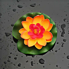 Foam Water Lily Flower Decor Artificial Floating Pond Plants Artificial Flowers