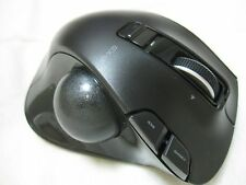 W/tracking New ELECOM Left Handed Wireless Track Ball Mouse M-XT4DRBK JAPAN