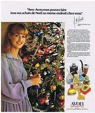 PUBLICITE ADVERTISING 114 1978 AVON produits de beauté par Melle Venti