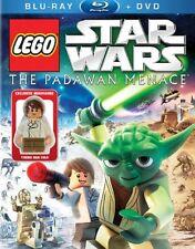 LEGO Star Wars The Padawan Menace Blu-ray & DVD Pack with Han Solo LEGO Figurine