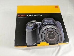 Kodak Pixpro AZ528 Digital Camera Blue 16MP 24mm 82X Optical Zoom HD Video WIFi
