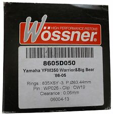 Wossner Piston Kit Siut Yamaha YFM350 Warrior&Big Bear  86-05 8605D050