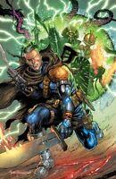 🔥✖️🗡 CABLE # 5 TYLER KIRKHAM Virgin Variant X OF SWORDS X-Men Gemini NM