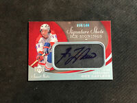 2007-08 UPPER DECK SWEET SHOT GUY LAFLEUR SHOTS ICE SIGNING AUTO #ed 50/100