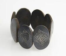 "YAK CORNO Bracciale ""Eight lucky simbolo"" dal Nepal."