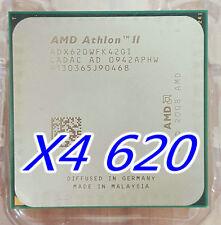 AMD Athlon II X4 620 ADX620WFK42GI 2.6 GHz quad core AM3 CPU Propus