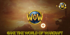 Game time World of Warcraft WoW US/NA Servers: 30 days, 90 days & 180 days
