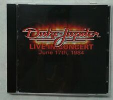 DUKE JUPITER  rare LIVE IN CONCERT CD I'll drink to you LITTLE LADY rescue me