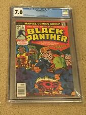 Black Panther 1 CGC 7.0 Newsstand w/ Rare White Pages (1st Black Panther Solo!!)