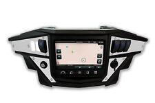 White Dash Panel Plates for Polaris XP1000 Ride Command
