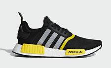 Adidas Originals NMD R1 Thunder Core Black Yellow Matte Silver F99713 Size 8-13