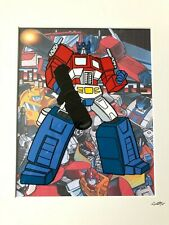 Transformers - Autobots - Optimus Prime - Hand Drawn & Hand Painted Cel