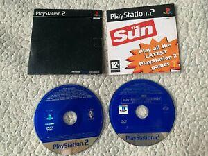 2 PS2 PLAYSTATION 2 demo discs PBPX-95506