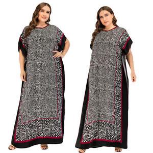 Kaftan Abaya Muslim Women Long Maxi Dress Caftan Dubai Robe Party Gown Jilbab