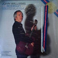 RODRIGO / CONCIERTO DE ARANJUEZ - JOHN WILLIAMS - CBS MASTERWORKS - 1984 LP