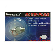10PC Glow Plug #4 70117 N4 Spark Hot Nitro Engine For 1/10 Traxxas OS RC HSP Car