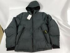 NWT Mens C9 Champion Gray Warmest Full Zip Hooded Puffer Jacket Zip Pocket Small