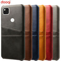 For Google Pixel 4a/3a/3a XL Luxury PU Leather Wallet Card Slot Back Cover Case