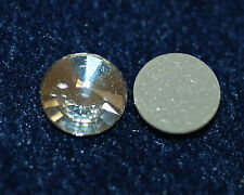 Cabochon Crystal vetro Cabochon 14 mm iron-on New GLUE 2x * bacatus *