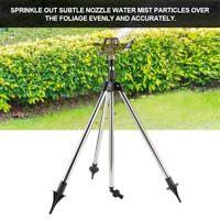 Adjustable Stainless Steel Ground Insert +360° Zinc Watering Sprinkler Sprayer