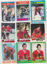 1973-74 OPC SIGNED ROOKIE CARD PHIL RUSSELL CHICAGO BLACKHAWKS FLAMES DEVILS 243