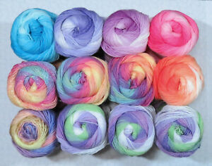 YARN BLOWOUT SALE - Fun Boxes of Color #13 - 12 Piece - Ice Yarns, King Cole