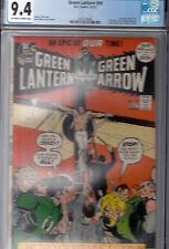 GREEN LANTERN #89 (Apr-May '72) CGC 9.4 (NM) * OWWP * Neal Adams cover & art *