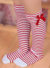 Kids Toddler Girls Princess Bowknot Top Knee High Socks Stockings for 1-8 Years