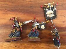 Undead Vampire Counts Grave Guard Command  Wights Warhammer Metal OOP