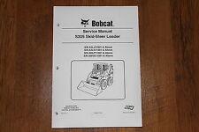 BOBCAT S205 SKID STEER LOADER SERVICE MANUAL 6987050