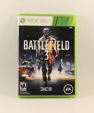 Battlefield 3 (Microsoft Xbox 360, 2011) Complete w/Inserts Tested Works Great