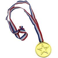 5pc enfants d'or en plastique gagnants Médailles Day Party Sac de sport Prix Réc