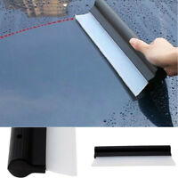 Car Window Squeegee Flexible Soft Silicone Wiper Drying Water Blade Valeting New