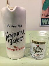 Whisky Pitcher 8 Year Old Kentucky Tavern The Vintage Bourbon And Glass