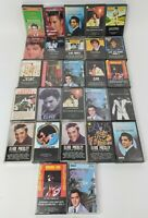 27 Elvis Presley Cassette Tapes Mixed Lot 50s/60s Rock n Roll Classics Rare