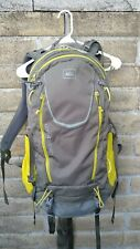 REI Lookout 40 Hiking Backpack Green 40L Lightweight Internal Frame Size: Large