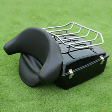 Chopped Tour Pak Pack Trunk Rack For Harley Touring Street Road Glide 1997-2013