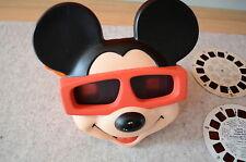 3d View Master Mickey Mouse de Walt Disney tyco Toys 1989