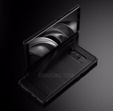 For Samsung Galaxy Note 8 Carbon Fibre Gel Case Cover Brushed Shockproof