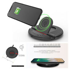 Portable Mini Car SUV Wireless Charging Stand QI Charger Mount For Mobile Phone