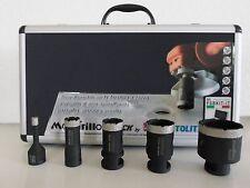MONTOLIT KIT 5 FRESE MANDRILLO DIAMANTATE 8-20-27-35-50mm FSBKIT Gres Porcellana