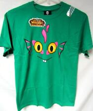 World of Warcraft Cataclysm Mens S M L or XL Screened Murloc Face Tee C1 1026
