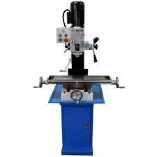 PM-727-M VERTICAL BENCH TOP MILLING MACHINE W/STAND, GEARED HEAD  FREE SHIPPING!