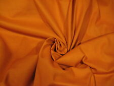 """Rusty Orange Solid 100% Cotton Fabric 44"""" Wide Sold By The Yard"""