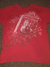 Disney Twilight Zone Tower of Terror Two Sided T-Shirt Men's M Medium Red